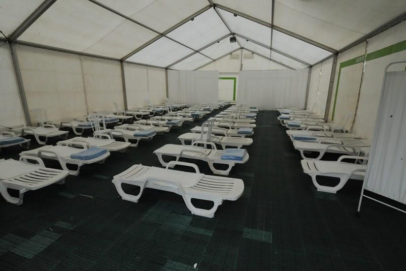 El hospital de campaña se instalará en la plaza del General Gutiérrez. / J. G.