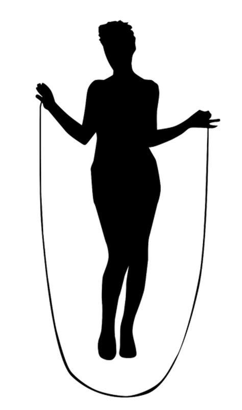Jump Rope Silhouette at GetDrawings | Free download