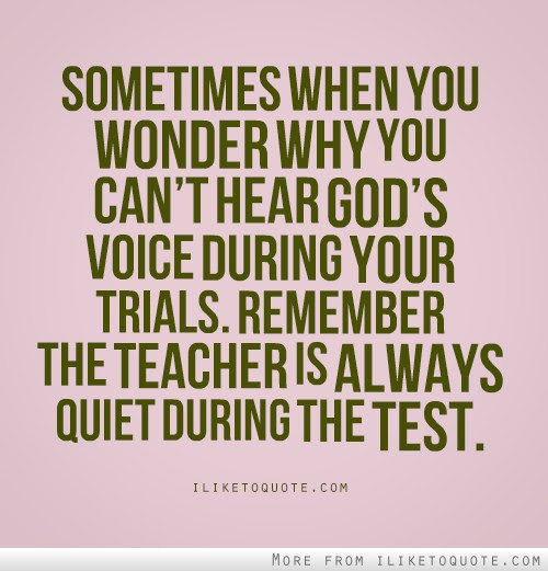 Sometimes When You Wonder Why You Cant Hear Gods Voice During Your
