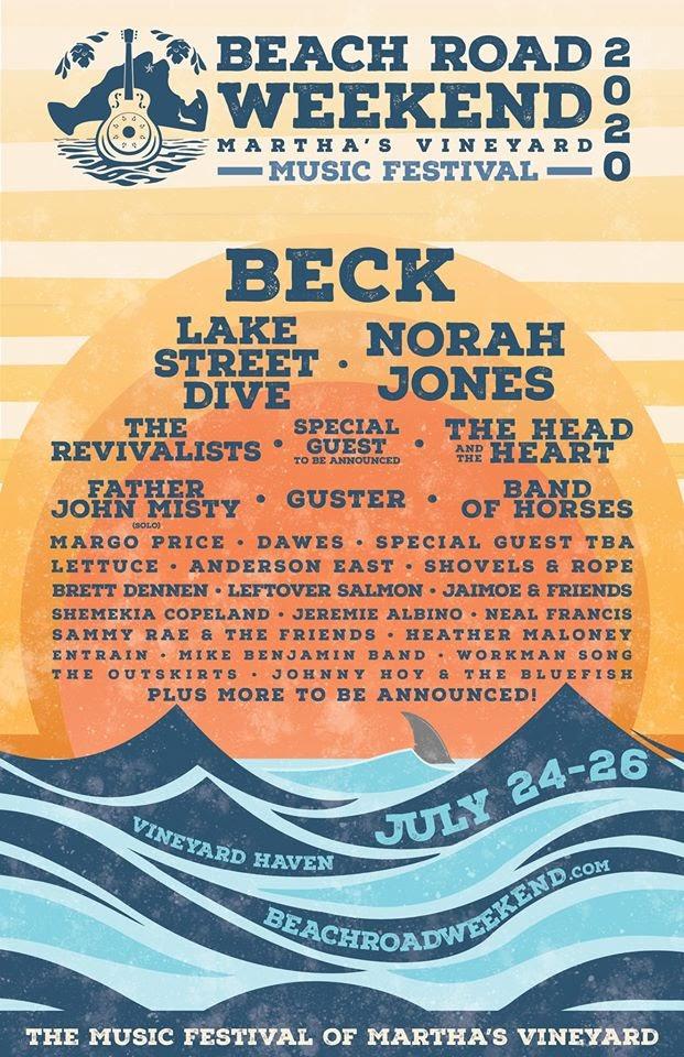 Beach Road Weekend 2020: Beck, Lake Street Dive, Norah Jones and More