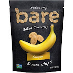Bare Banana Simply Baked Crunchy Banana Chips - 2.7 oz pouch