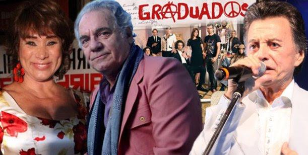 Palito Ortega, Betiana Blum y Hugo Arana, el trío que llega a Graduados