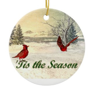 tis the season Christmas Ornament ornament