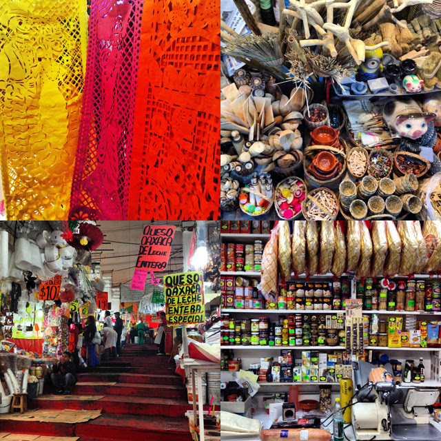 Maket Hopping in Mexico City