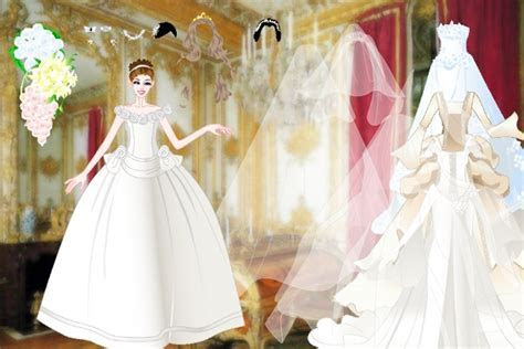 Celebrity Wedding Dresses Dress Up Game   Wedding games