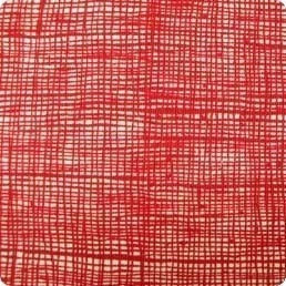 Alexander Henry FABRIC  - Home Dec - Heath - Red