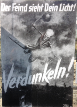 Berlin blackout poster