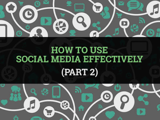 How to use social media effectively (Part 2) | The Pocketbook Blog by Shoppertise