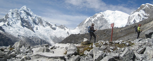 Backpacking Treks in Cordillera Blanca and Huayhuash of the Peruvian Andes Mountain Range