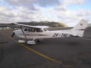 ZK-TAV Ardmore Flying School Cessna C172R