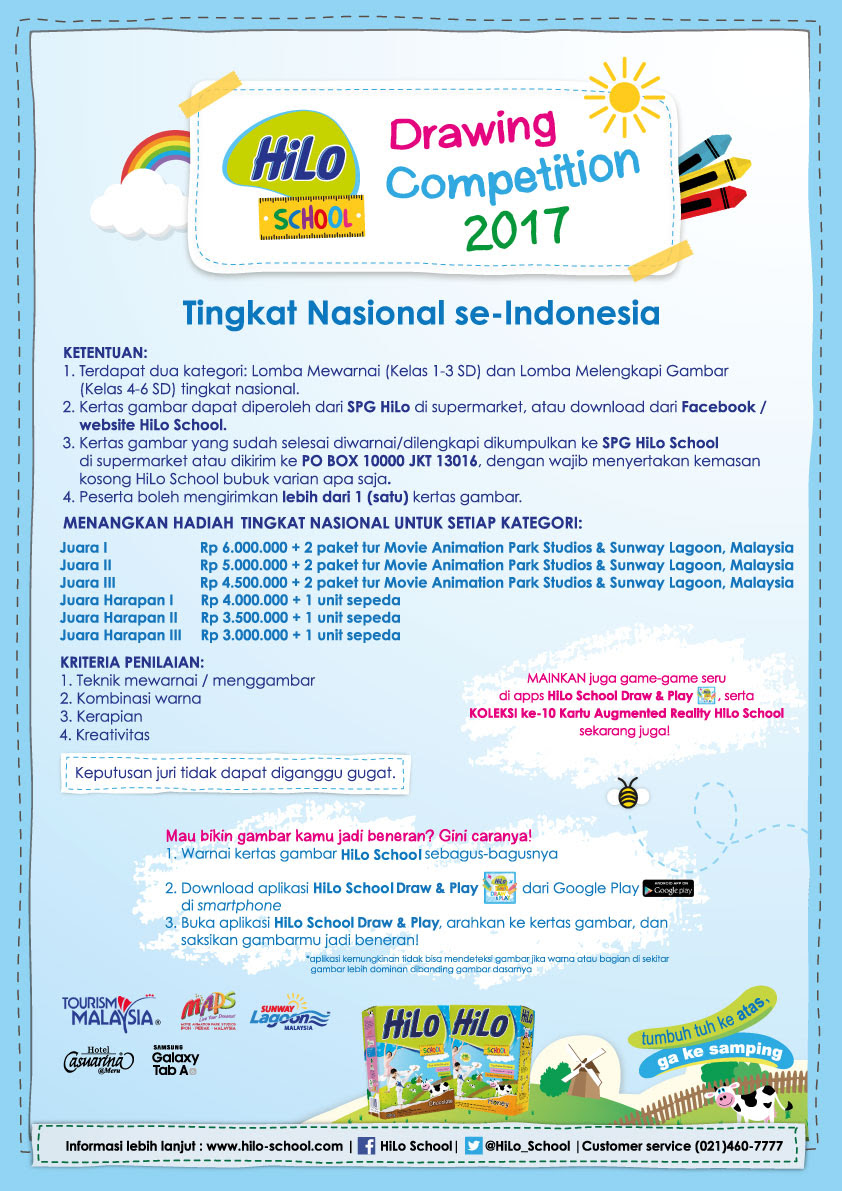 Hilo School Drawing Competition 2017 Tingkat Nasional Hilo School