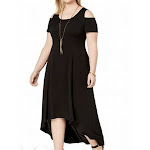 NY Collection Women's Dress Black