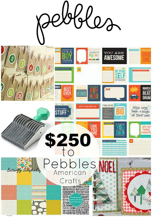 Announcing My New Cottage Line ... and $250 American Crafts/Pebbles Giveaway! -- Tatertots and Jello