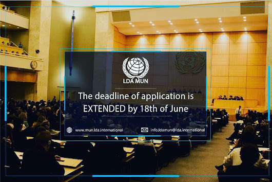 LDA International organizes LDA MUN in Tbilisi, Georgia 06-10 July 2017!      Amazing opportunity, do not loose it, APPLY NOW!