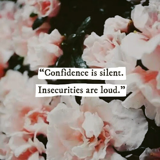 Bohemianrose - #confidence #is #silent #insecurities  #are #loud...