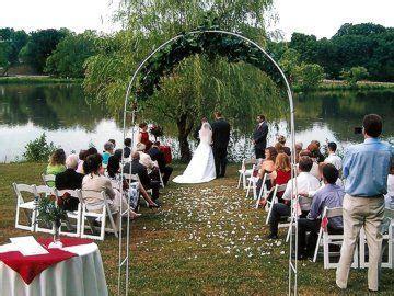 Hocking Hills Lake Logan Wedding at Georgian Manner Bed