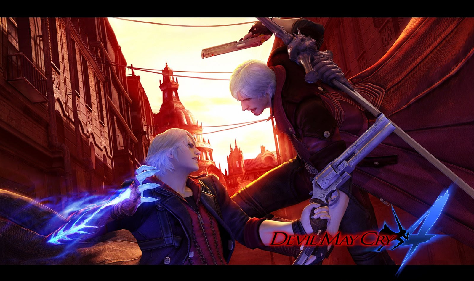 Dmc4 Nero Street Fight Dante By Leodheme Devil May Cry 4