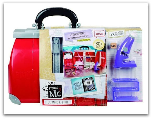 Inspiring a love of science with Project Mc2 Ultimate Lab Kit