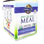 Raw Meal Vanilla Packets By Garden Of Life - 10 Packets