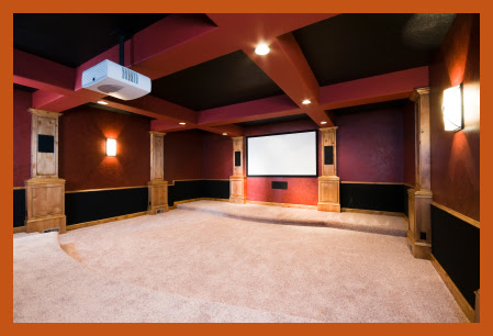 Media Rooms House | Interior Decorating Tips