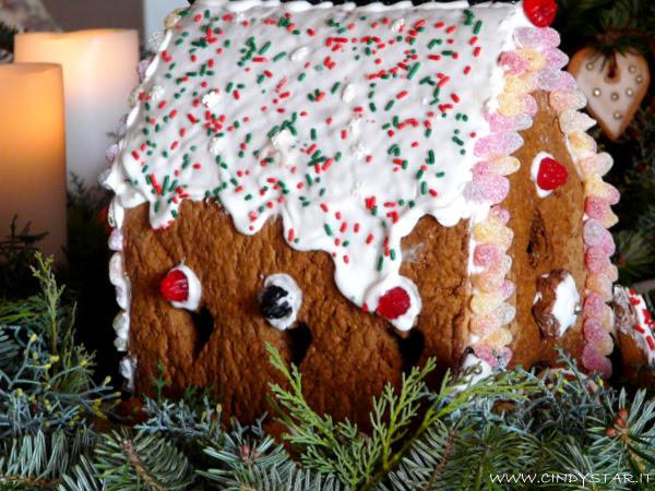 casetta panpepato - gingerbread house