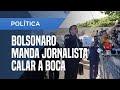 VEJA VÍDEO: Bolsonaro volta a atacar a imprensa, a mesma que o ajudou a chegar ao poder!
