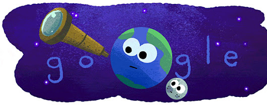 Exoplanet Discovery: Google Posts Special Logo