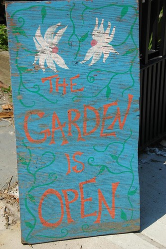 THE GARDEN IS OPEN