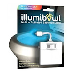 Illumibowl 748252039392 Motion Activated Bathroom LED Light Multicolor