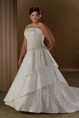 Lovely large bride dresses in custom sizes.
