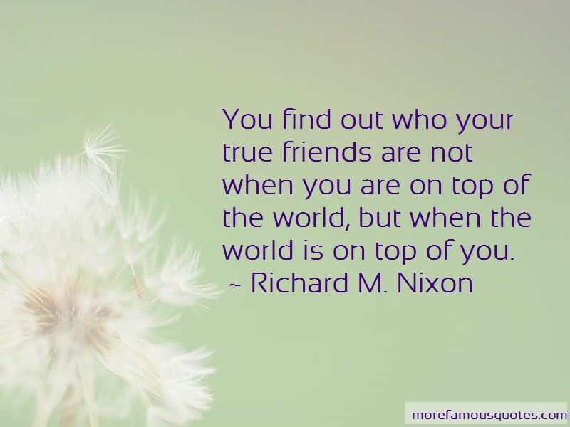 Quotes About Who Your True Friends Are Top 42 Who Your True Friends