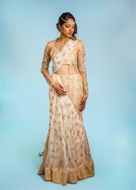 Buy Designer Fiona Indian Wedding Gown For Women Online