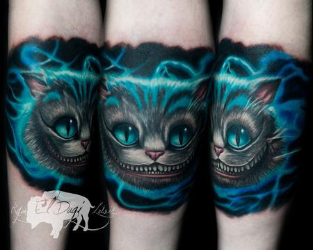 Cheshire Cat Alice In Wonderland By Ryan El Dugi Lewis Tattoos