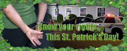 Know Your Rights This St. Patrick's Day - Bad Boys Bail Bonds Utah