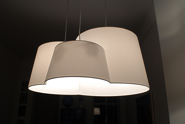 Pendant light above dining table ('After' shot.) | Flickr - Photo ...