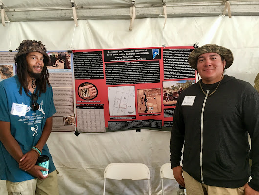 Local students presented at Pecos Archaeological Conference