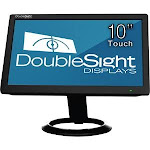 """DoubleSight Displays 10"""" Smart USB LCD Monitor with Touch Screen"""