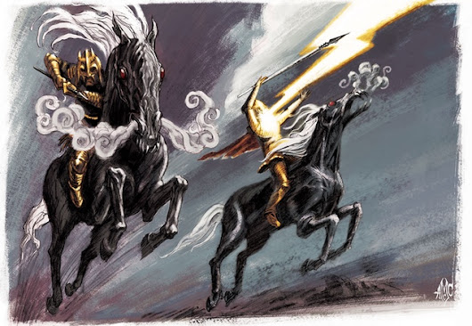 13th Age in Glorantha update: Surprising Darkness Horses (demons, actually)