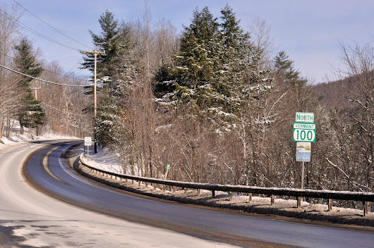 Route 100: the Legendary Skiers Highway in Vermont
