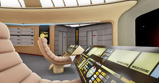 'Star Trek' virtual tour will recreate every deck of the Enterprise