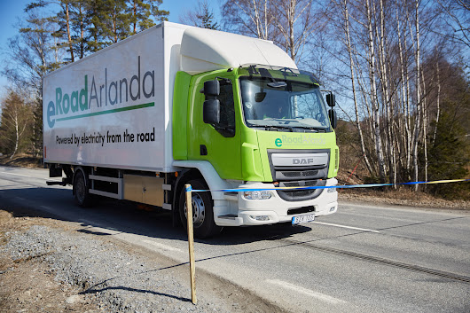 2 Kilometer Stretch of Electrified Road in Sweden Aims to Slash Transportation Emissions | CleanTechnica
