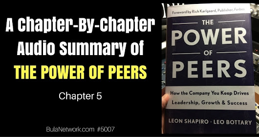 A Chapter-By-Chapter Audio Summary Of THE POWER OF PEERS (Chapter 5) #5007 - THE PEER ADVANTAGE