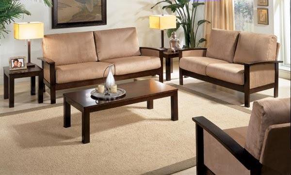 Wooden Sofa Sets India | Sheesham Wood Sofa Sets | Indian Wooden ...