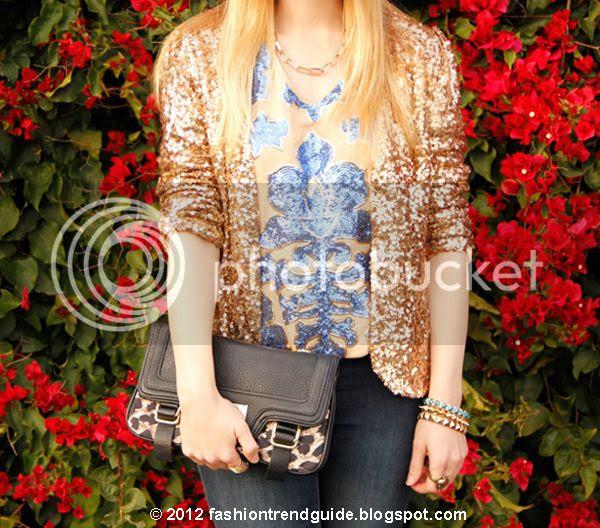 Target Neiman Marcus Tracy Reese sequin top