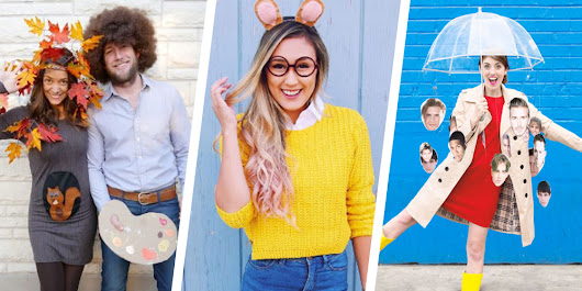 35+ Last-Minute Halloween Costumes You Can Quickly DIY
