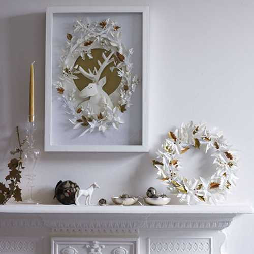 15 Winter Decorating Ideas Inviting Deer into Modern Home Interiors