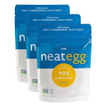 the egg Vegan Egg Substitute 4.5 oz [3 pack] by neat