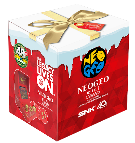 SNK Announces NeoGeo Mini Christmas Edition With More Games On Board
