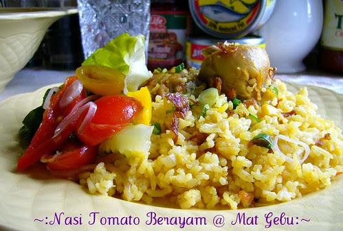 Nasi Tomato Berayam