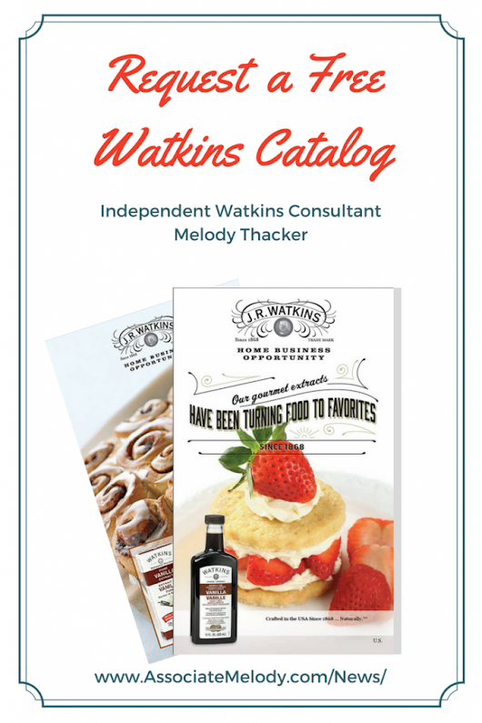 Request a Watkins Products Catalog